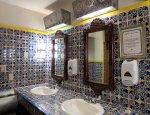 Łazienka pokoi w Krośnie